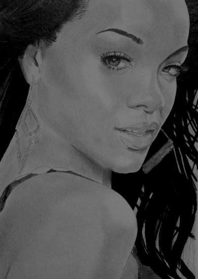 Rihanna by umberto